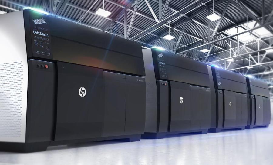 HP 金屬3D列印機